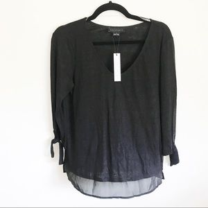 Sanctuary 3/4 sleeves blouse